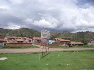adobe domy v Peru, cusco